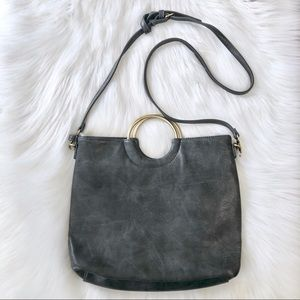 Altar'd State Charcoal Oh My Purse Crossbody Bag